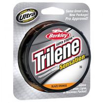 Berkley Trilene Sensation Monofilament Blaze Orange 4lb 330yd