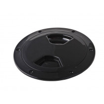 Waterproof ABS Inspection Port Black 102mm (4in)