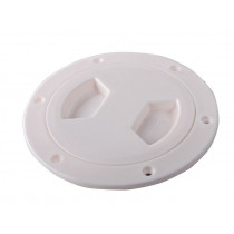 Waterproof ABS Inspection Port White 102mm (4in)