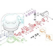 TMC Electric Marine Toilet Macerator Blade Set