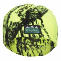 Ridgeline Micro Fleece Beanie Yellow Camo