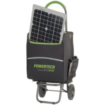 Powertech Portable Inverter Power Pack with Solar Panels 600W