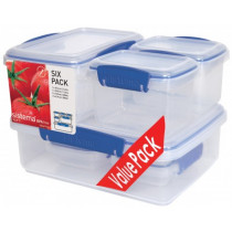 Sistema KLIP IT Sealed Container 6 Piece Value Pack