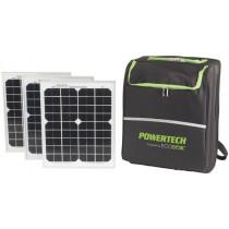 Powertech Pure Sine Wave Portable Solar Power Pack 300W