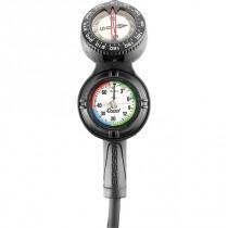 Cressi Console CPD3 Compass/Depth/Pressure Gauge