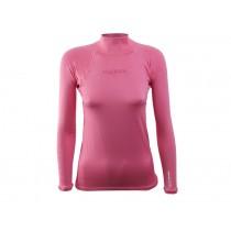 Maddog Girls Long Sleeve Rash Top Pink Size 4