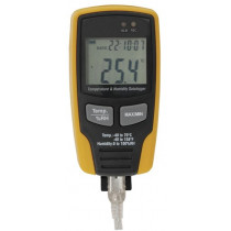 USB Temperature/Humidity Datalogger with LCD