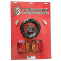 Trojan Combination Tail Lamp Kit 12v