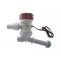 Rule Angled Thru-Hull Livewell Pump 1100GPH 12v