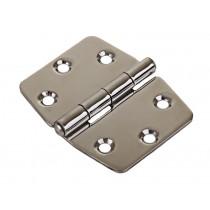 Stainless Steel Hinge 74 x 60mm