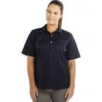 Swanndri Womens Tasman Cotton Short Sleeve Shirt Navy