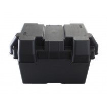 Large Battery Box incl Webbing Straps 330x180x205mm