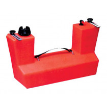 Dinghy-Mate Transom Mounted Fuel Tank 11L