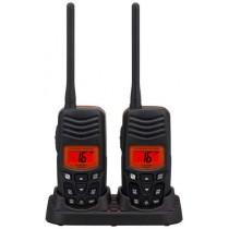 Standard Horizon HX100 Handheld VHF Radio Twin Pack
