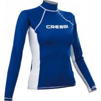 Cressi High-Stretch Womens Long Sleeve Rash Top