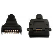 Trojan 7 Pin Flat Trailer Connectors