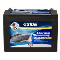 Exide Marine Stowaway AGM Deep Cycle Battery 12V