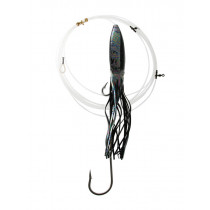 Bonze SwordFish Rig with Single J Hook and Squid Skirt