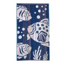 Velour Jacquard Beach Towel Big Fish