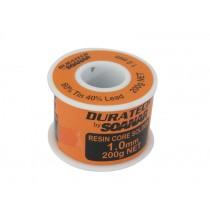 Resin Core Solder Roll 1mm 200g