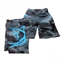 Bonze Grey Camo Board Shorts