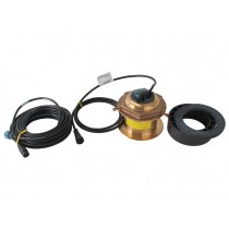Airmar B164 1kW Tilted Bronze Thru-Hull Transducer with MM1 Mix and Match Cable