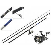 Shimano Big Baitrunner Long Cast and Shadow X Nano Surfcasting Combo 15ft 10-15kg 3pc