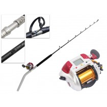 Shimano 4000 Plays and Status Bent Butt Electric Reel Boat Combo 5ft 6in PE3-5kg 2pc