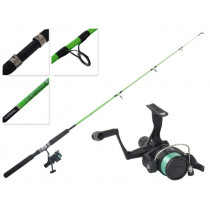 Shimano IX 2000 and Kidstix Green Spinning Combo 5ft 4-8kg 1pc