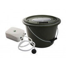 Portable Live Bait Bucket with Aerator
