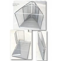 Nacsan Large A-Frame Steel Folding Set Net