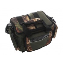 ManTackle Camo Tackle Bag with 2 Tackle Trays