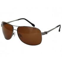 Shimano Symetre Polycarbonate Aviatior Sunglasses Grey/Black