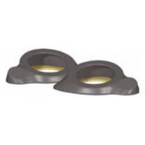 Aerpro Fibreglass Speaker Spacers 6in Grey - Pair