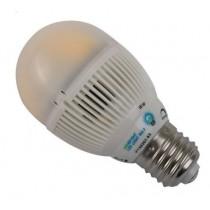 Globe LED Light Bulb Screw Fitting 5w 2800K 230Vac