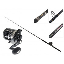 Okuma Solterra 15 Levelwind and X-Factor Left Hand Overhead Boat Combo 6ft 6in 15kg 1pc