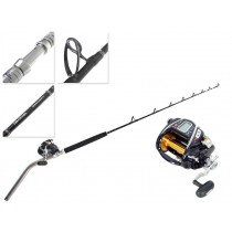 Daiwa Seaborg Mega Twin Electric Reel and Procyon Bent Butt Game Combo 24kg