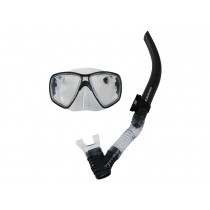Mirage Carbon Fibre Mask and Snorkel Set Clear