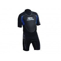 Aropec 3/2mm Climax Neoprene Mens Sport Shorty Wetsuit Blue