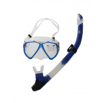 Sea Harvester Dive Mask and Snorkel Set Blue
