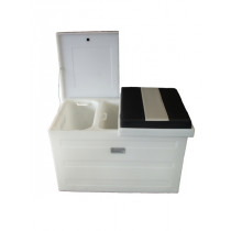 Hi-Tech Large Fish Bin with Two Lift Out Inserts