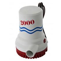 FloPower 2000 GPH Bilge Pump 12V