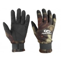 Aropec Camo Spearfishing Gloves 2mm