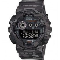 G-Shock GD120CM-8D Camouflage Series Watch Woodland Grey 200m