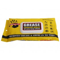 Grease Removal Hand Wipes Pack of 3