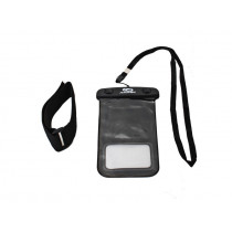 Aropec Waterproof Phone Bag with Arm Band Black