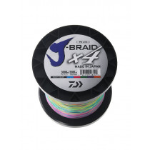 Daiwa X4 J-Braid Multi-Colour 3000m
