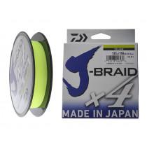 Daiwa X4 J-Braid Yellow 135m
