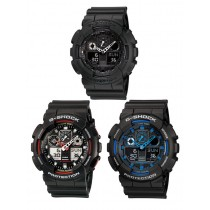 G-Shock GA100 Analog-Digital Watch 200m