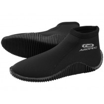 Aropec Low Cut Dive Boots with Rubber Sole 3mm